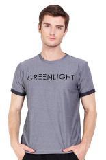 Greenlight Men Tshirt Grey Pakaian Atasan Pria T-Shirt