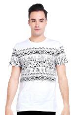 Greenlight Pakaian Atasan Kasual Kaos T-Shirt Pria Men Tshirt Cream Diskon discount murah bazaar baju celana fashion brand branded