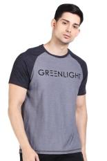 Greenlight Pakaian Atasan Kasual Kaos T-Shirt Pria Men Tshirt Grey Diskon discount murah bazaar baju celana fashion brand branded