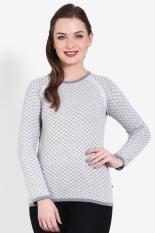 Greenlight Pakaian Hoodie & Sweatshirt Wanita Ladies Knit Grey Diskon discount murah bazaar baju ce