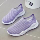 Toko Grils Loafers Slip Ons Fashion Wanita Sneakers Flat Shoes Orang Tua Kid Sepatu Yang Serasi Intl Lengkap Di Tiongkok
