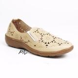 Jual Grivera Sepatu Wanita Flat Shoes Laser B20 Cream Antik