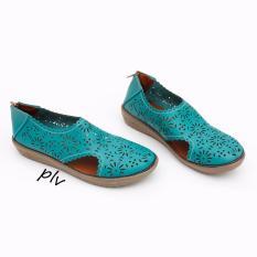 Beli Grivera Sepatu Wanita Flat Shoes Laser My22 Toska Online Murah