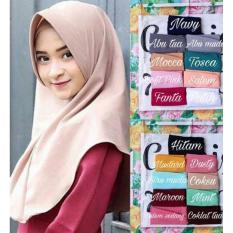 Griyaazza - Jilbab Khimar Pet Antem Simple Hijab - Multi Warna