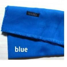 Griyaazza - Jilbab Saudia Segi Empat Rawis Warna Biru - Biru