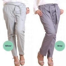 GROSIR Celana katun stretch wanita - celana kantor