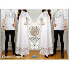 Grosir Dress-Baju Pasangan/Kemeja Cowok/ Elegant Putih