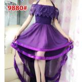Spesifikasi Grosir Dress Dress 9880 Ungu Paling Bagus