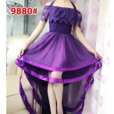Beli Grosir Dress Dress 9880 Ungu