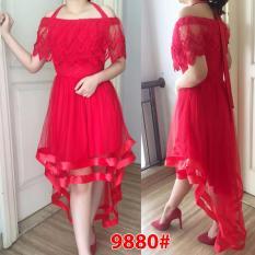 Review Toko Grosir Dress Dress Sabrina 2 Fungsi Red Online