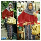 Promo Grosir Dress Hijab Pelangi Maron Dki Jakarta