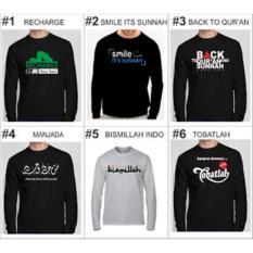 Grosir Kaos Islami Lengan Panjang #01