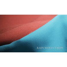 GROSIR RANDOM KAIN KILOAN WOLLY CREPE / WOLYCREP / WOLICREP TERMURAH