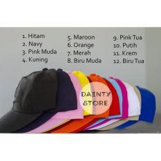 Grosir Topi Caps Baseball Tumblr Polos Murah - 3Bb5ee