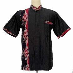Spesifikasi Grosiryogya Hem Batik Koko Katun Motif Warna Hp5122 Hitam Lengkap