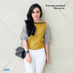 GSD - Baju Atasan / Baju Wanita / Baju Cewekl /Blus Casual Ria