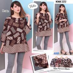 Spesifikasi Gsd Baju Atasan Wanita Baju Batik Baju Korea Blouse Wanita Blus Batik Knk 575 Yang Bagus
