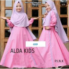 GSD-Baju Gamis Anak/Baju Muslim Anak/Baju Anak Cewek/Baju Anak/ Maxi Dara Kids