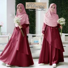 GSD-Baju Muslim Wanita/ Baju Gamis/Baju Busui /Dress Muslim / Baju Syari Harina