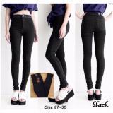 Harga Gsd Celana Panjang Celana Jeans Wanita Celana Hightwaist Celana Jegging Wanita Black Satu Set