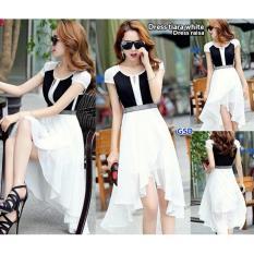 Jual Gsd Baju Wanita Dress Pesta Dress Casual Baju Cewek Dress Raisa White Import
