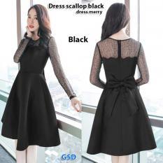 GSD - Baju Wanita / Baju Pesta / Dress Pesta / Dress Casual Merry