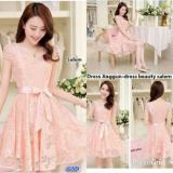 Jual Gsd Baju Wanita Baju Pesta Dress Brukat Dress Casual Beauty