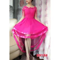 Spesifikasi Gsd Dress Pesta Asimetris Dress Brukat Import 9919 Fanta Bagus