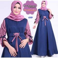 GSD - Fashion Muslim/ Baju Gamis /Baju Busui /Dress Muslim /Maxi Dress Suby