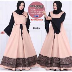 GSD - Baju Gamis / Baju Wanita / Dress Muslim / Baju Muslim / Maxi Dress Manda Coksu