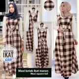 Harga Gsd Baju Gamis Baju Muslim Dress Muslim Long Dress Maxi Dress Square Tali Merah Hati Original