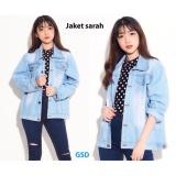 Jual Gsd Jaket Jeans Sarah Light Blue Online