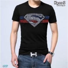 GSD - Baju Pria /Pakaian Pria /Baju Casual/Koas Cowo Terbaru- Kaos Superman