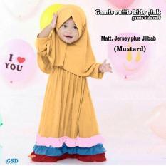 GSD-Baju Muslim Anak / Gamis Anak / Baju Anak Cewek / Maxi Dress Anak  Ruff