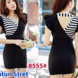 Jual Gsd Mini Dress 8555 Black Gsd Ori