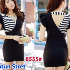 Jual Cepat Gsd Mini Dress 8555 Black