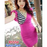 Harga Gsd Mini Dress 8555 Pink Asli