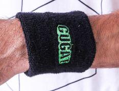 Gshop GGT 2155 Armband/ Wristband Gugat Edition Pria Knitting Bagus (Hitam)