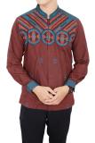 Jual Gudang Fashion Baju Etnik Pria Muslim Merah Murah