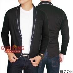 Gudang Fashion - Baju Jaket Jas Modern Pria - Hitam