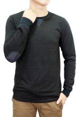 Harga Gudang Fashion Baju Kaos Tangan Panjang Pria Hitam Gudang Fashion Baru