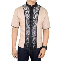 Gudang Fashion - Baju Koko Betawi - Krem