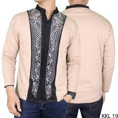 Gudang Fashion - Baju Koko Motif Bordir Panjang