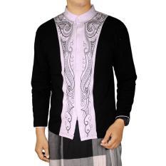 Toko Gudang Fashion Baju Koko Pria Kombinasi Hitam Dekat Sini