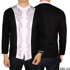 Gudang Fashion - Baju Lebaran Koko Panjang - Hitam