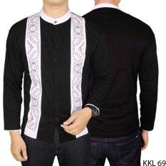 Gudang Fashion - Baju Lebaran Muslim Pria - Hitam
