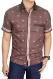 Situs Review Gudang Fashion Batik Casual Coklat