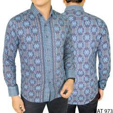 Gudang Fashion - Batik Elegan Pria - Biru