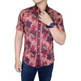 Gudang Fashion Batik Keren Pria Merah Banten Diskon