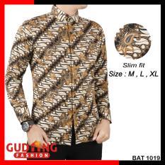Gudang Fashion - Batik Pria Elegan - Kombinasi Warna